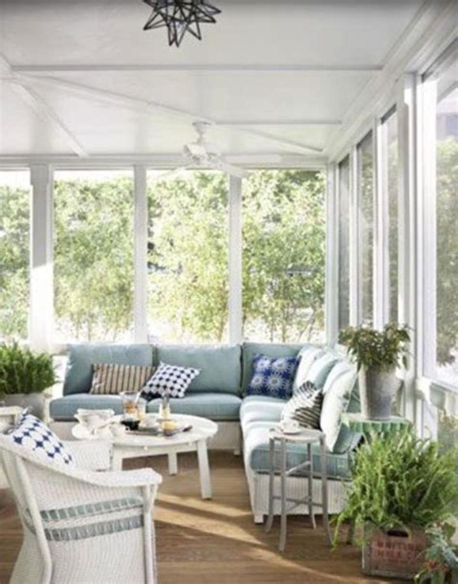 The Best Enclosed Porch Design And Decor Ideas 16