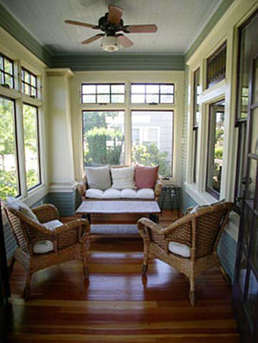 The Best Enclosed Porch Design And Decor Ideas 22