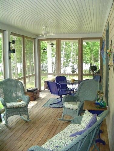 The Best Enclosed Porch Design And Decor Ideas 24