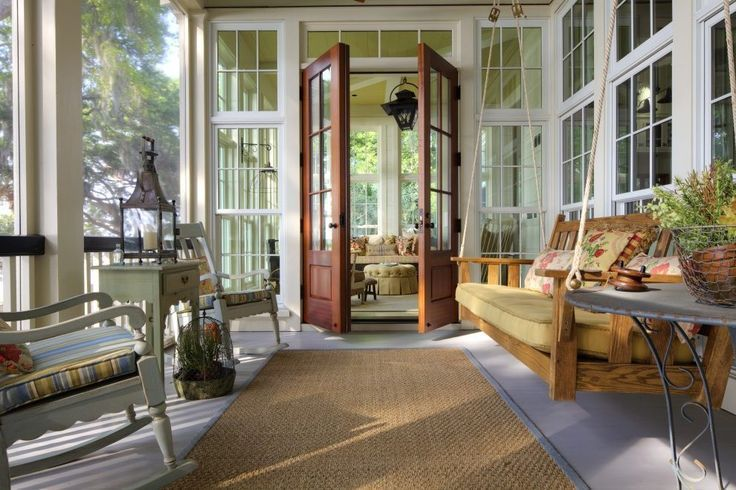 The Best Enclosed Porch Design And Decor Ideas 25