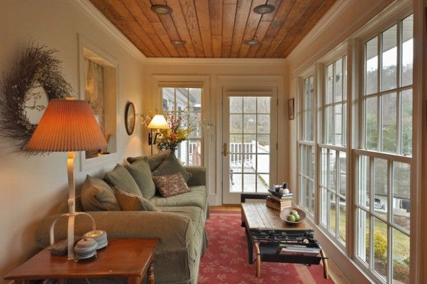 The Best Enclosed Porch Design And Decor Ideas 27