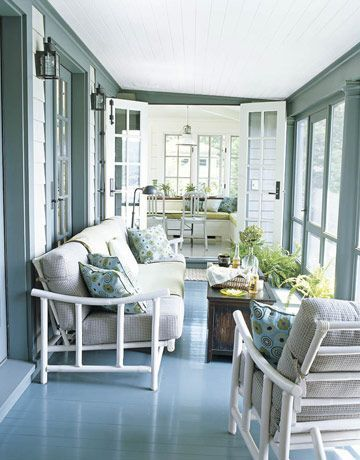 The Best Enclosed Porch Design And Decor Ideas 35