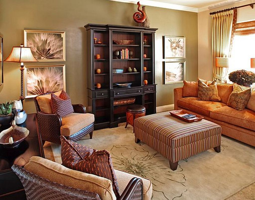 The Best Fall Living Room Decor Ideas Because Autumn Is Coming 18