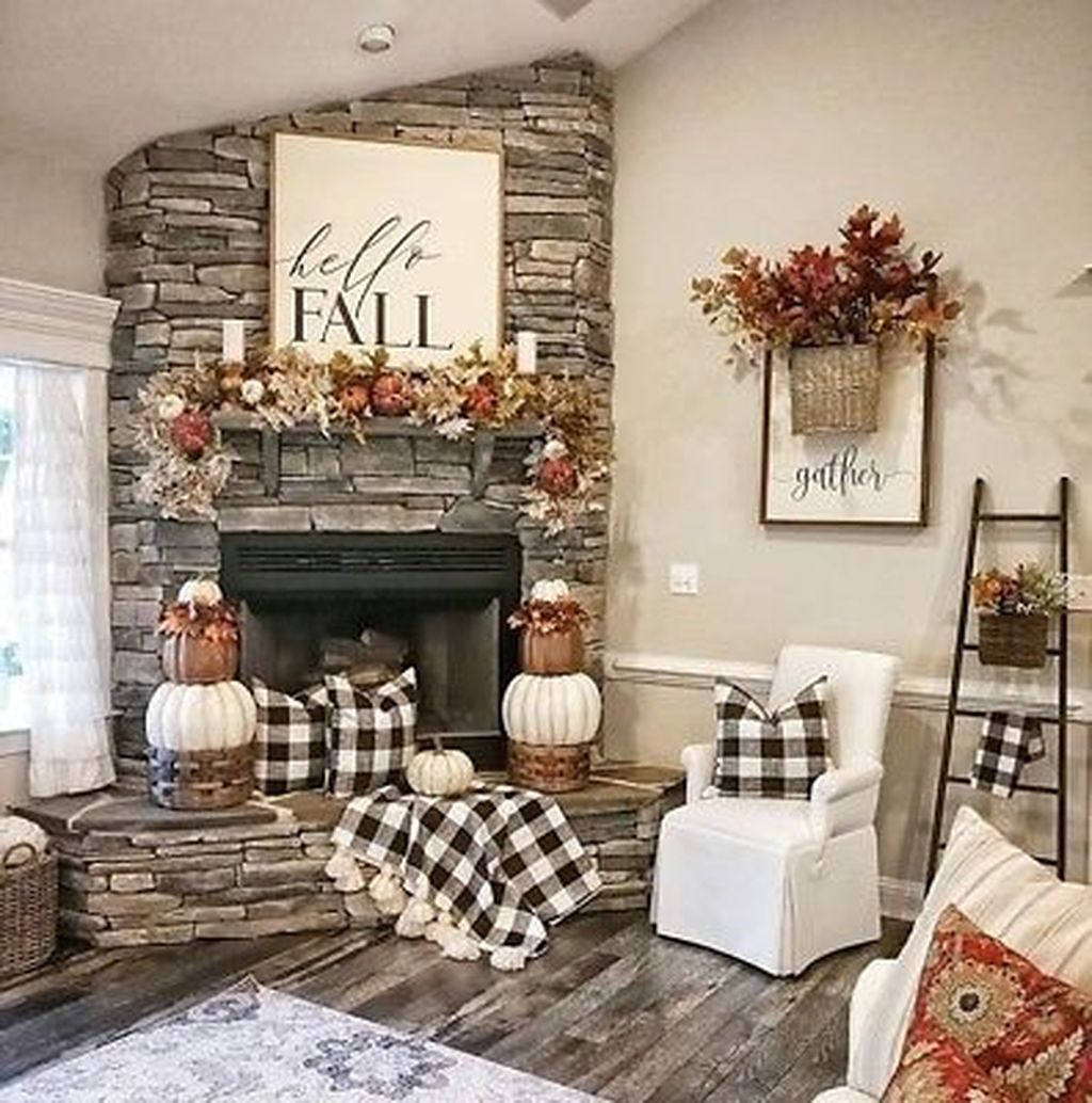The Best Fall Living Room Decor Ideas Because Autumn Is Coming 23