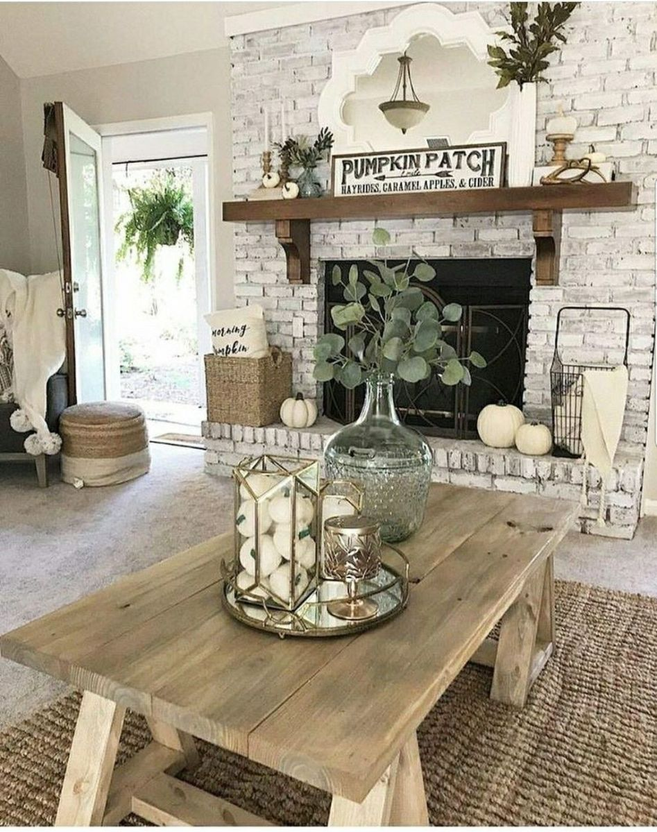 The Best Fall Living Room Decor Ideas Because Autumn Is Coming 29