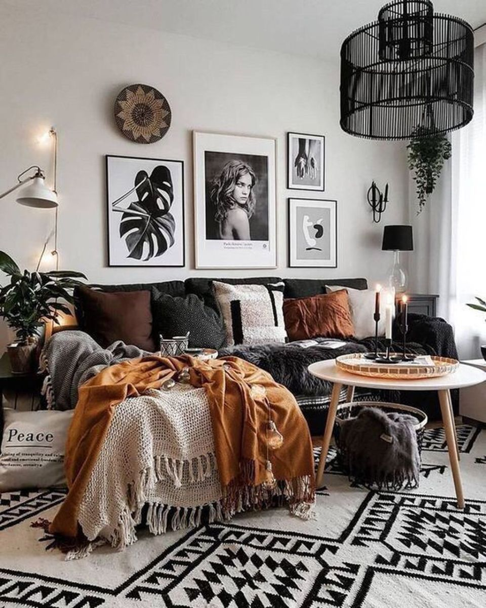 The Best Fall Living Room Decor Ideas Because Autumn Is Coming 31