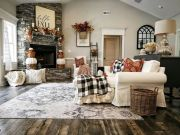 The Best Fall Living Room Decor Ideas Because Autumn Is Coming 35