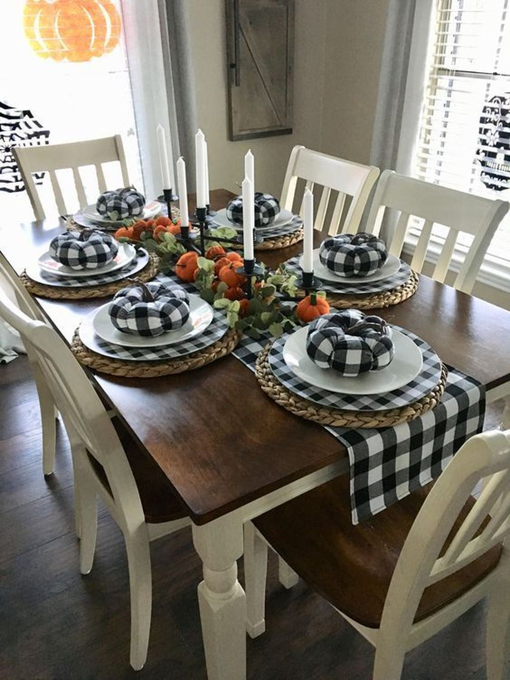 The Best Rustic Dining Room Decoration Ideas 03