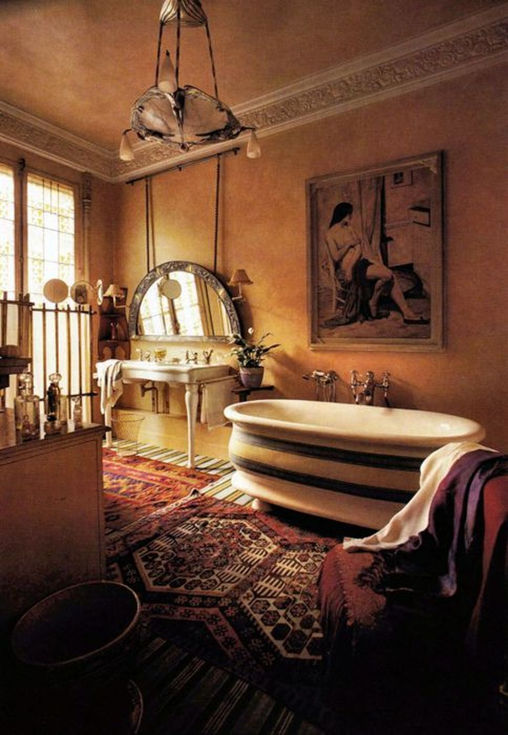 Amazing Bohemian Style Bathroom Decor Ideas 22