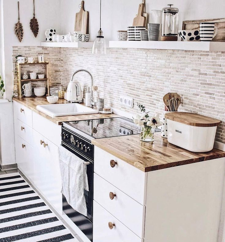 Awesome Cottage Kitchens Design Ideas 14