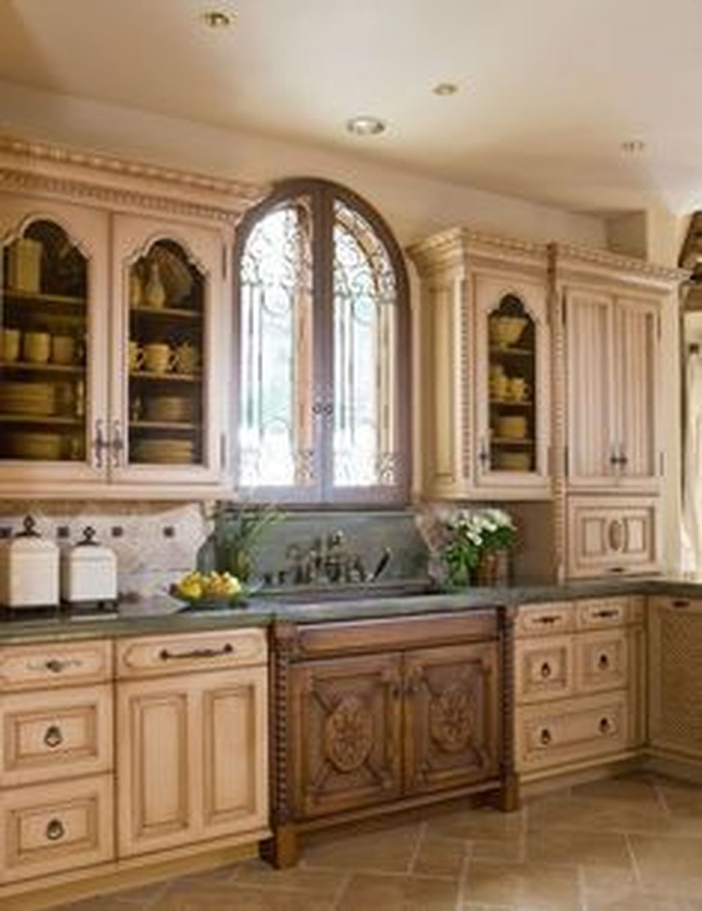 Awesome Tuscan Kitchen Decoration Ideas 07