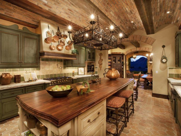 Awesome Tuscan Kitchen Decoration Ideas 08