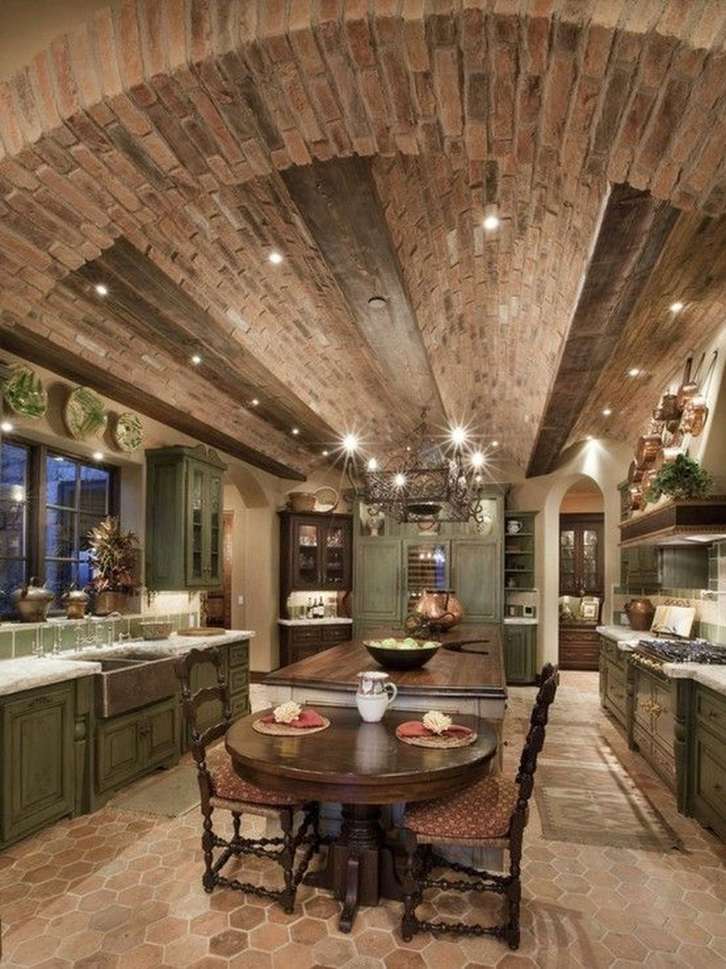 Awesome Tuscan Kitchen Decoration Ideas 20