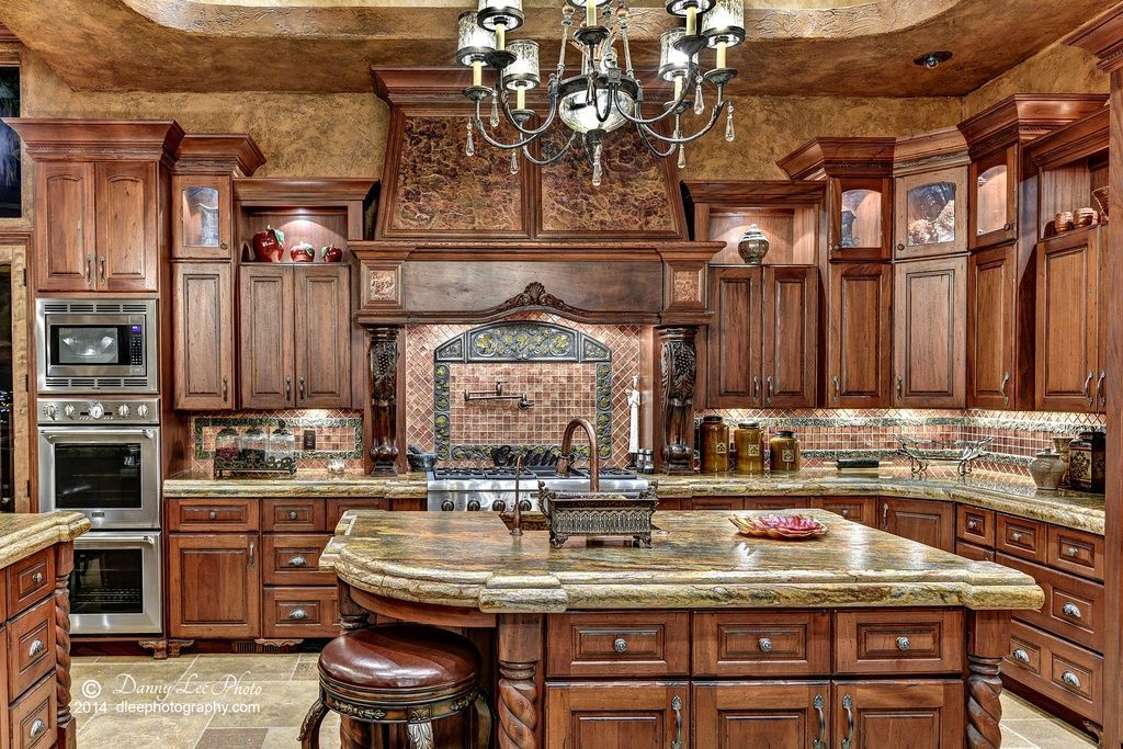 Awesome Tuscan Kitchen Decoration Ideas 22