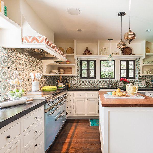 Beautiful Bohemian Style Kitchen Decoration Ideas 02