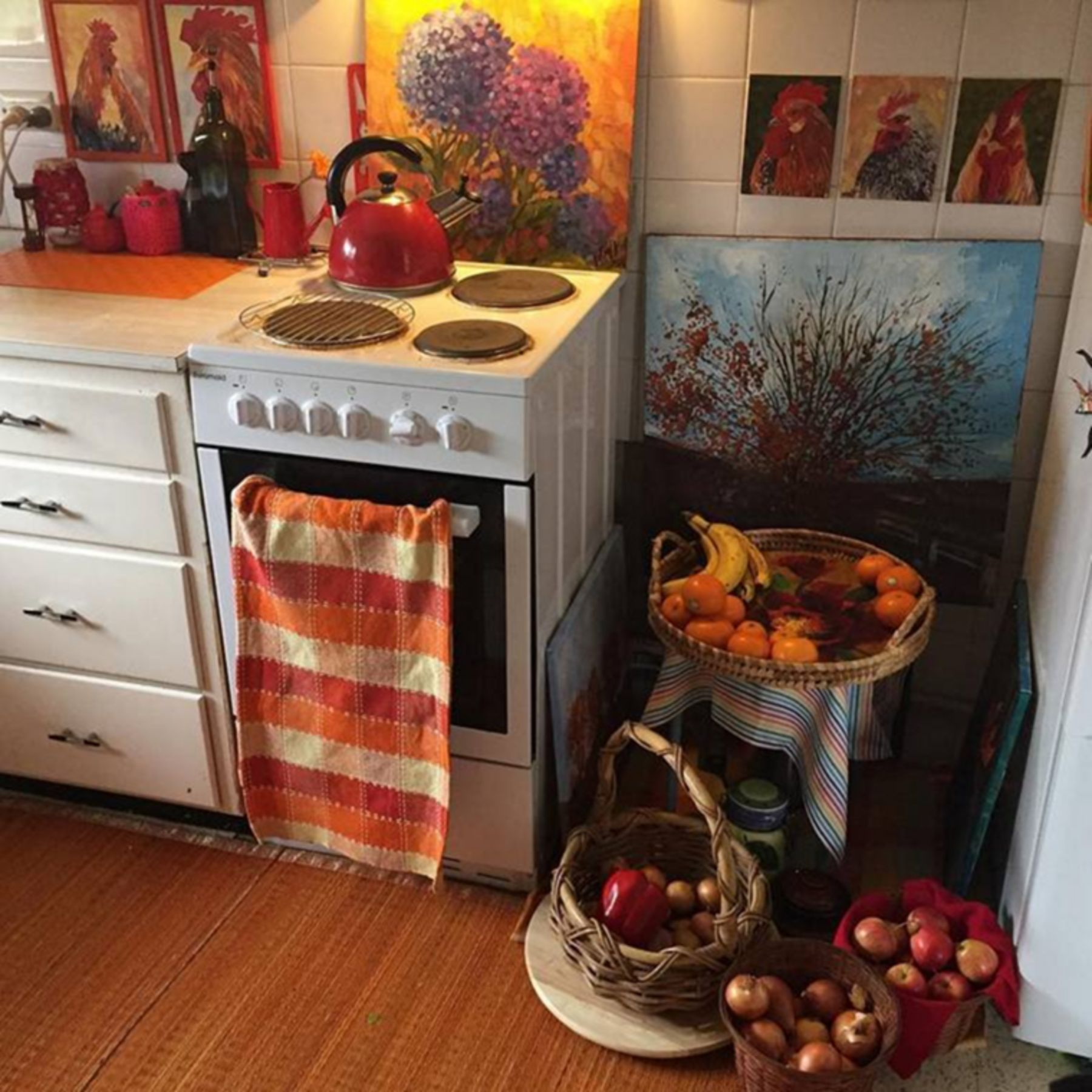 Beautiful Bohemian Style Kitchen Decoration Ideas 04