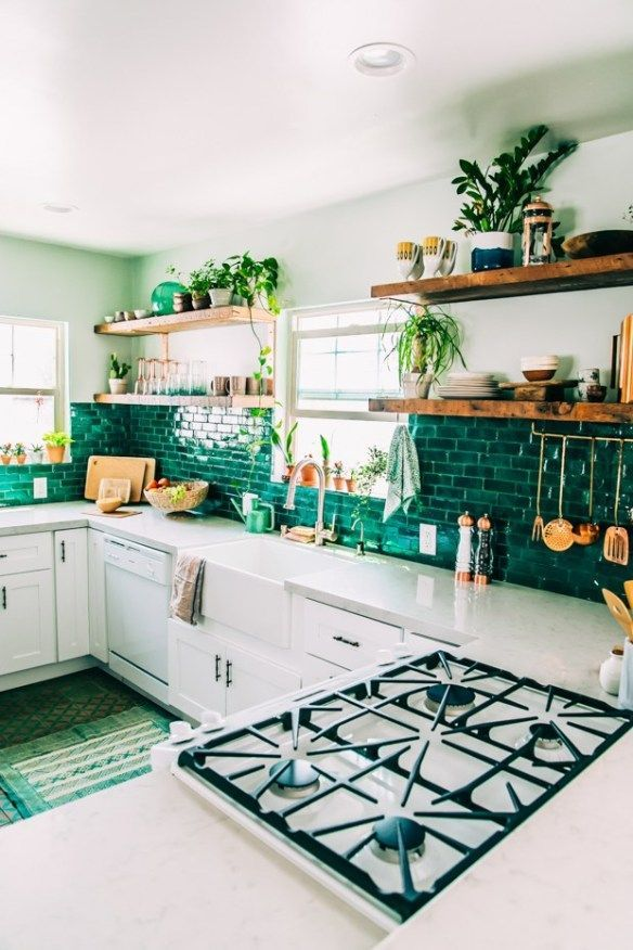 Beautiful Bohemian Style Kitchen Decoration Ideas 19