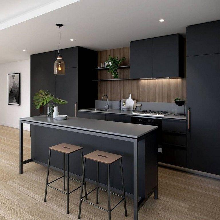 Beautiful Contemporary Kitchen Design Ideas 22