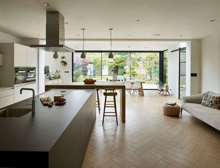 Beautiful Contemporary Kitchen Design Ideas 35