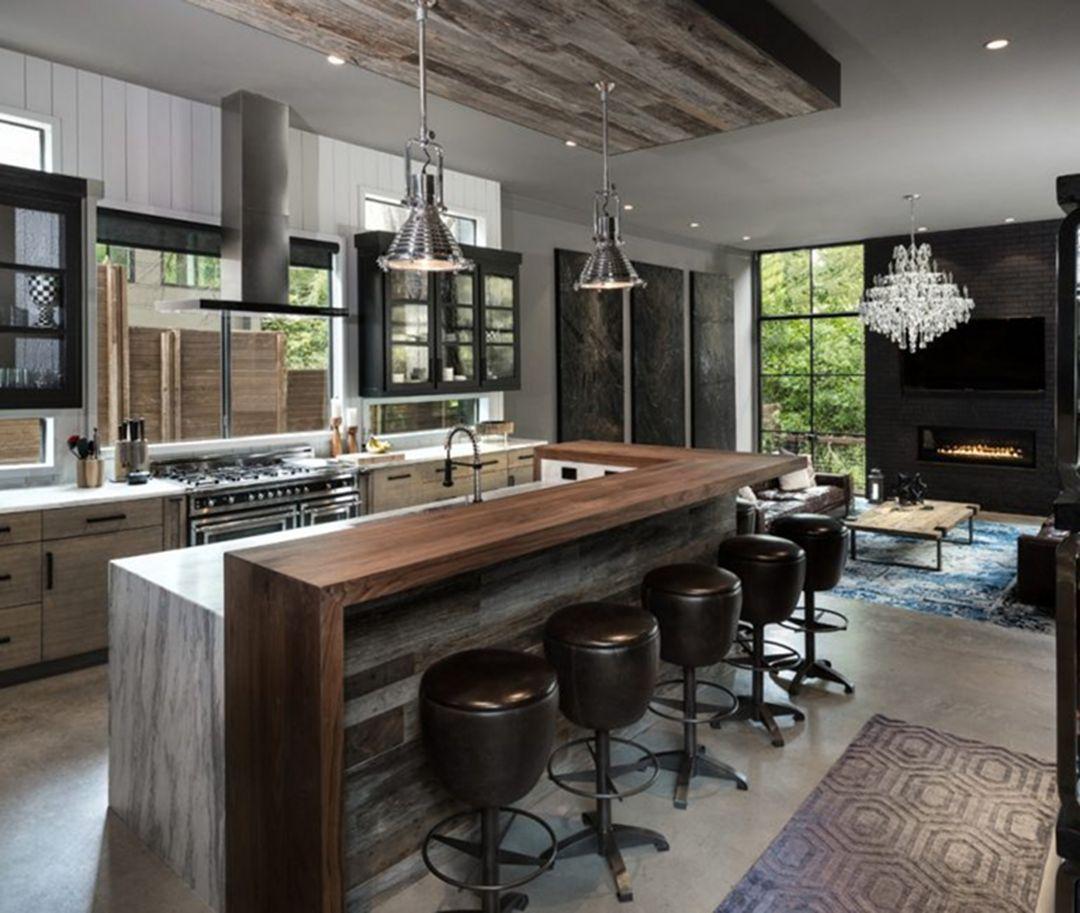 Beautiful Contemporary Kitchen Design Ideas 36