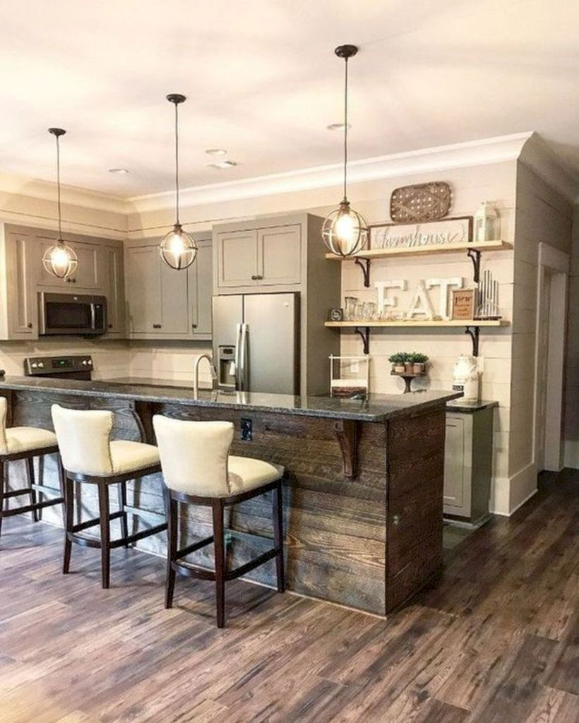 Beautiful Kitchen Island Design Ideas 27