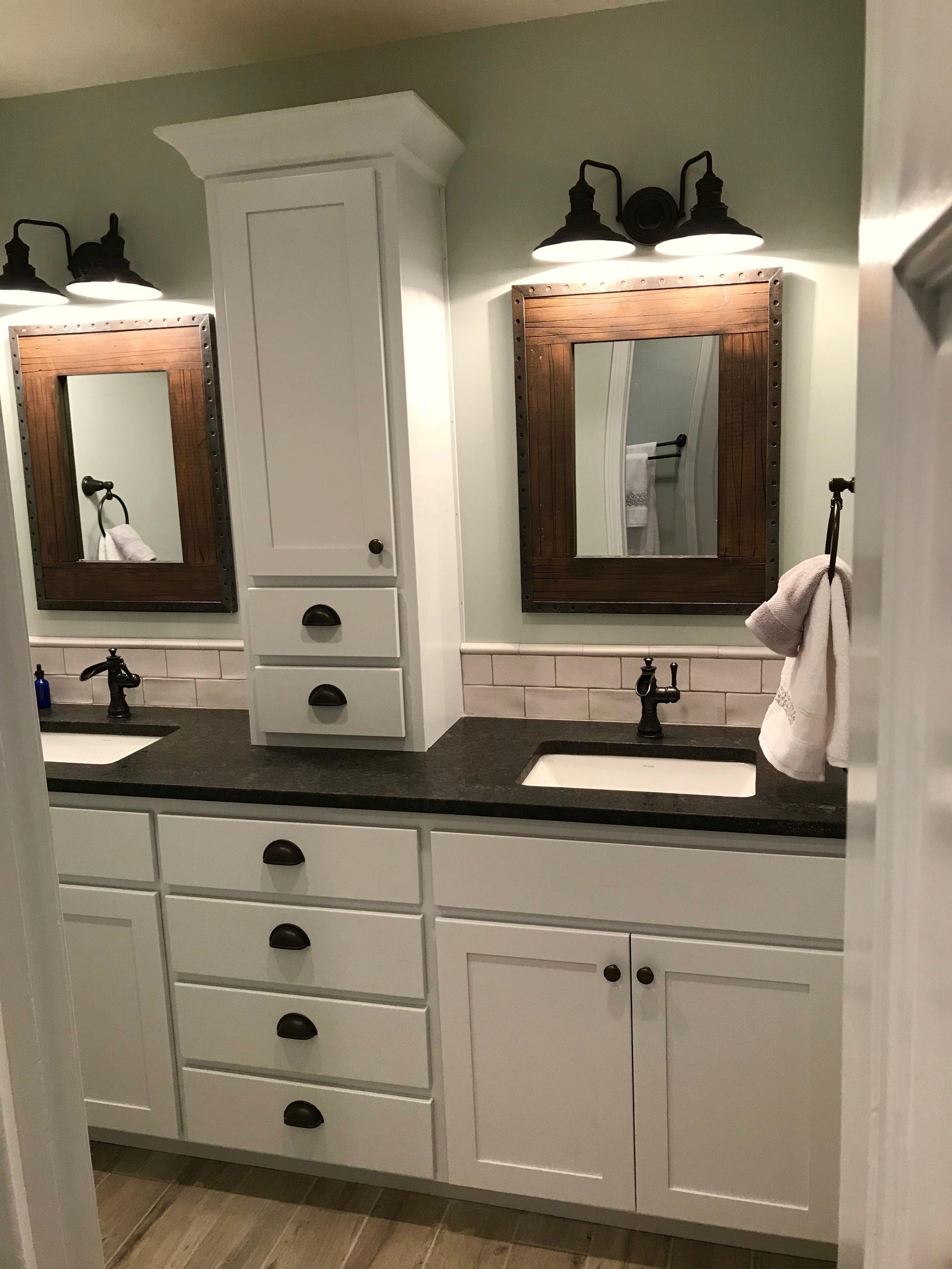 Fabulous Bathroom Cabinets Design Ideas 05