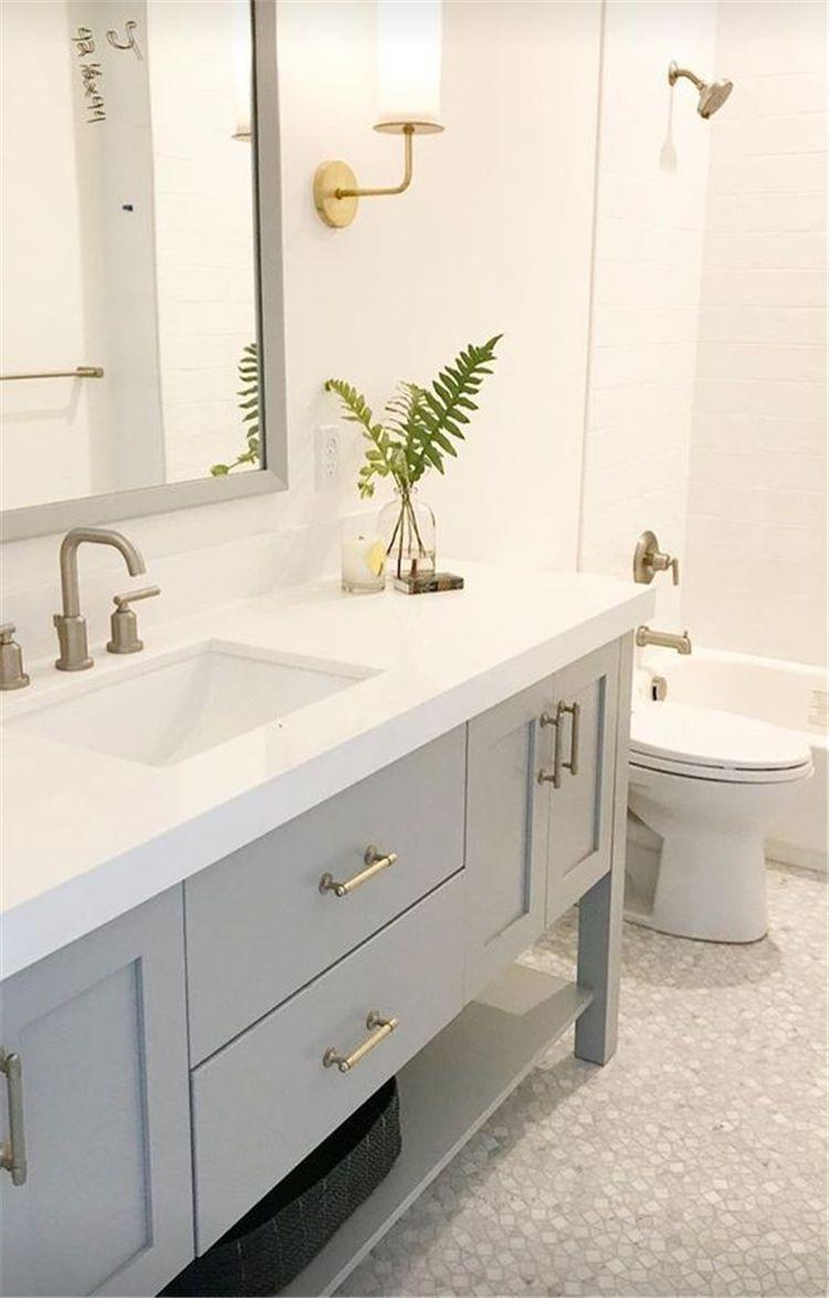 Fabulous Bathroom Cabinets Design Ideas 20