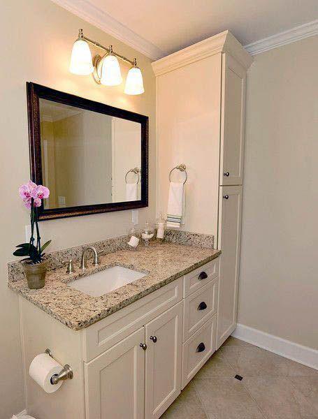 Fabulous Bathroom Cabinets Design Ideas 25