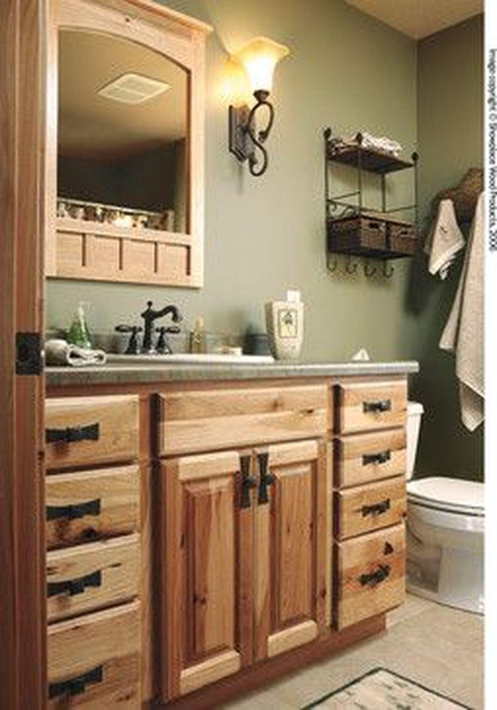 Fabulous Bathroom Cabinets Design Ideas 30