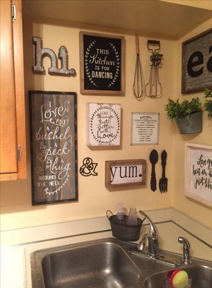 Gorgeous Kitchen Wall Decor Ideas 02