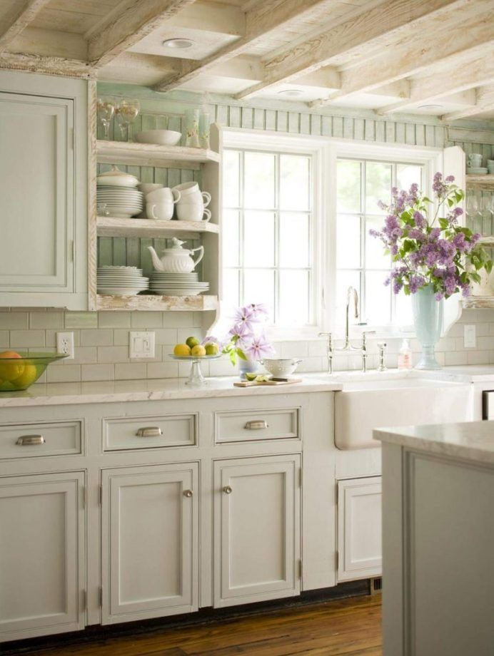 Inspiring White Kitchen Design Ideas With Luxury Accent 16