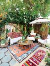 Lovely Bohemian Style Ideas For Your Outdoor Design 14
