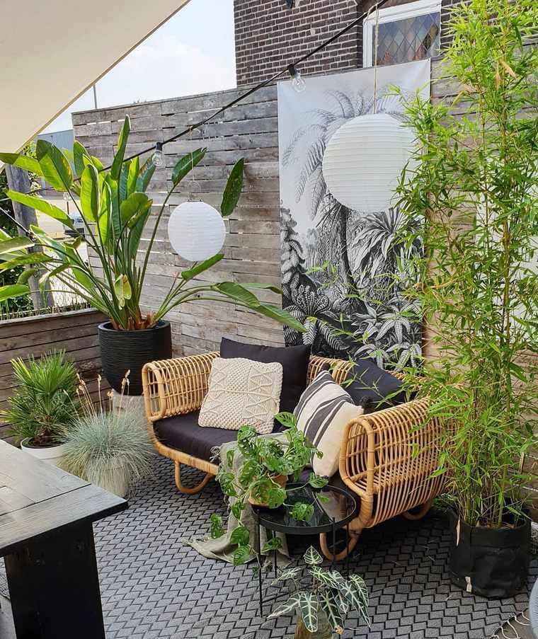 Lovely Bohemian Style Ideas For Your Outdoor Design 21