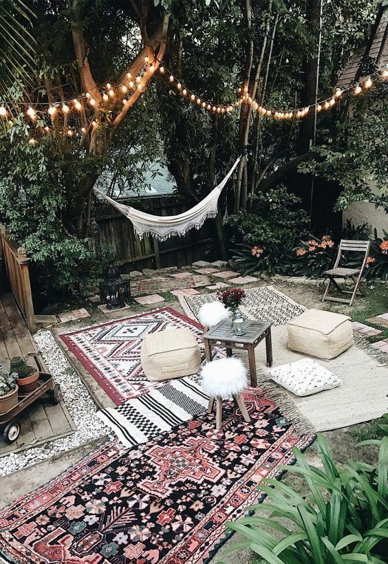Lovely Bohemian Style Ideas For Your Outdoor Design 30