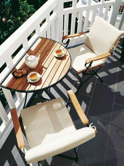 Lovely Small Porch Apartment Balconies Ideas 13