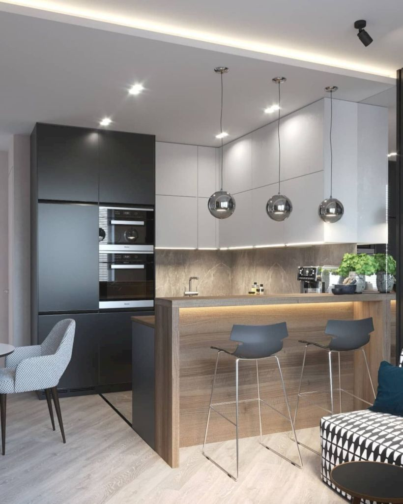 Nice Modern Kitchen Design And Decor Ideas 14