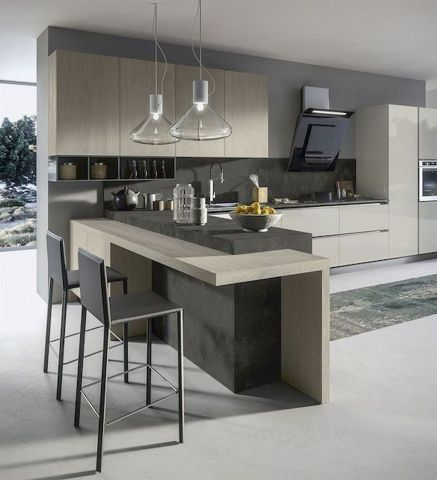 Nice Modern Kitchen Design And Decor Ideas 25