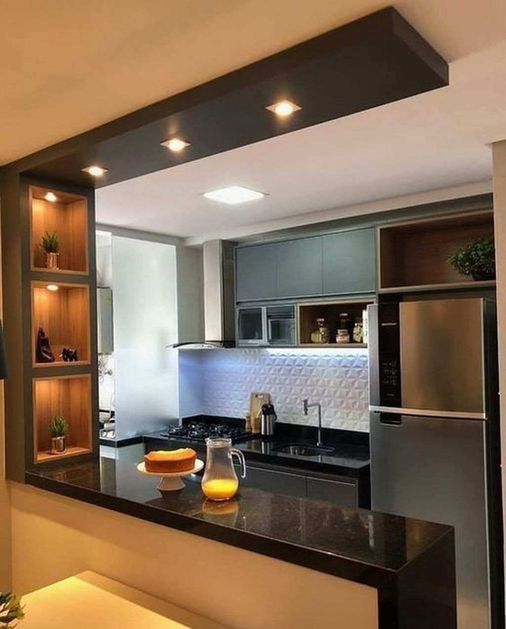 Nice Modern Kitchen Design And Decor Ideas 27