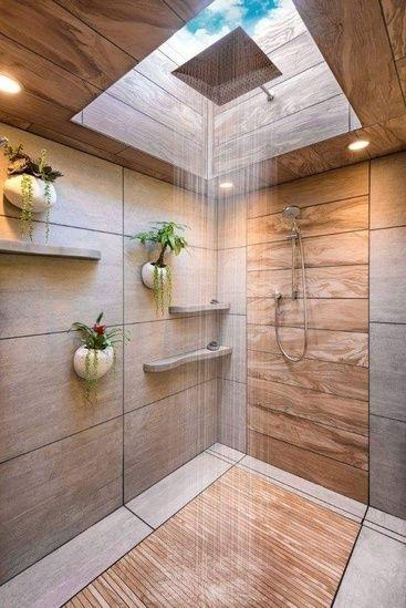 Nice Tile Shower Ideas For Your Bathroom 03