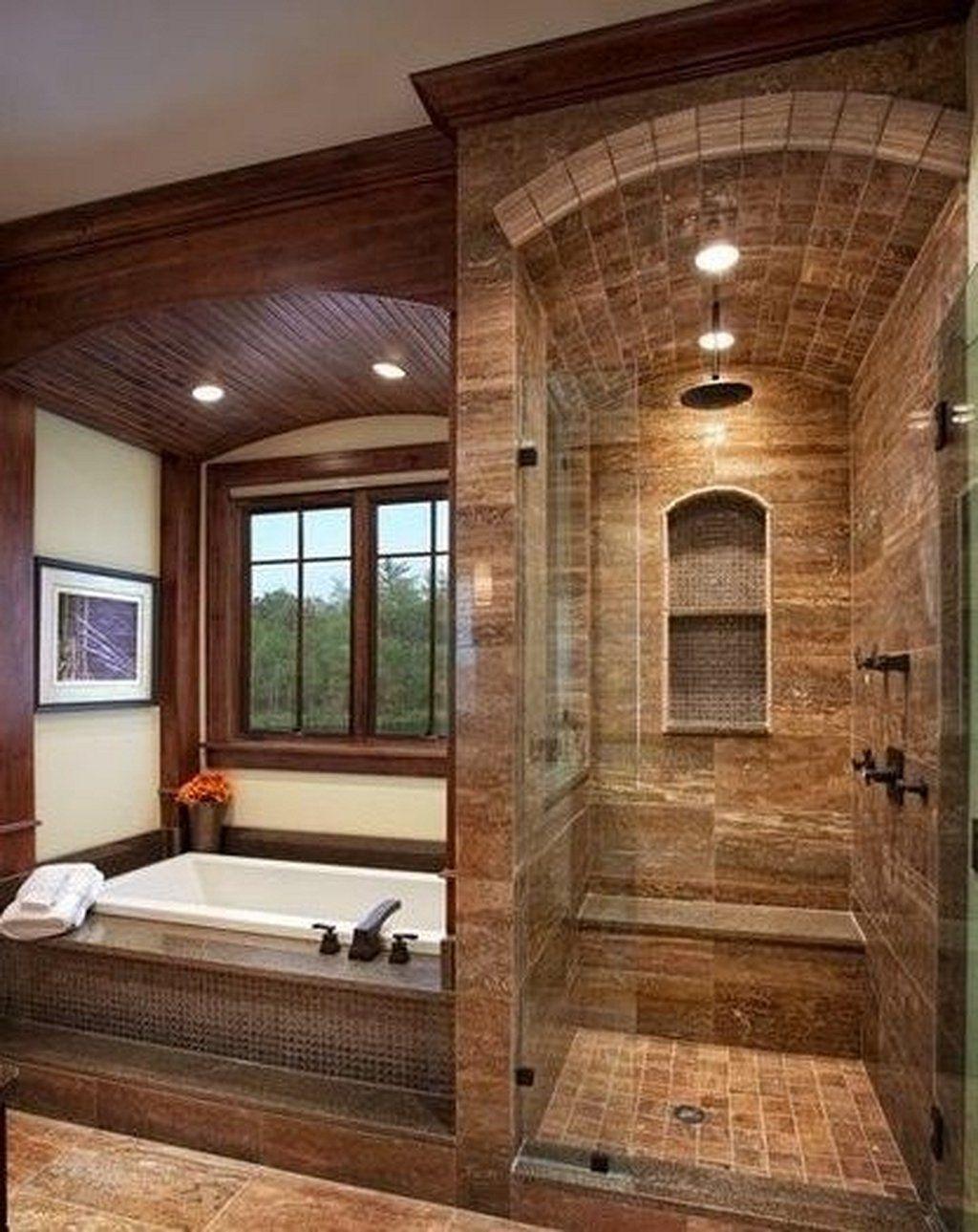 Nice Tile Shower Ideas For Your Bathroom 07