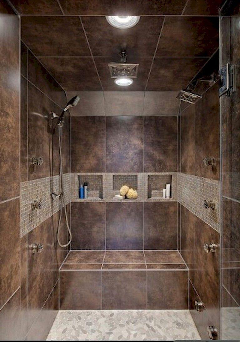 Nice Tile Shower Ideas For Your Bathroom 14
