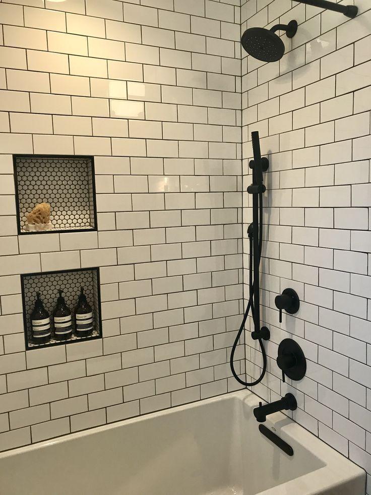 Nice Tile Shower Ideas For Your Bathroom 17