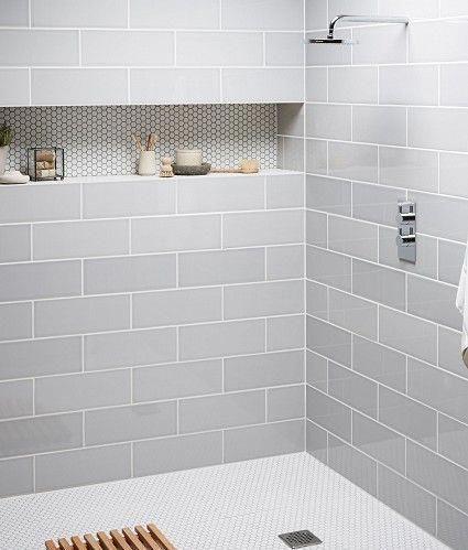 Nice Tile Shower Ideas For Your Bathroom 21