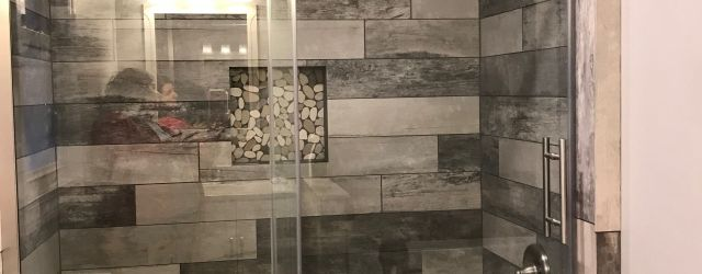 Nice Tile Shower Ideas For Your Bathroom 33