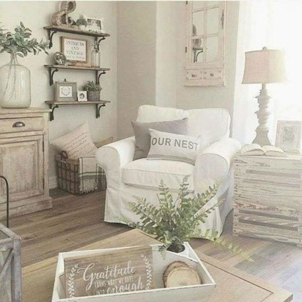 Popular Modern Farmhouse Living Room Decor Ideas 11