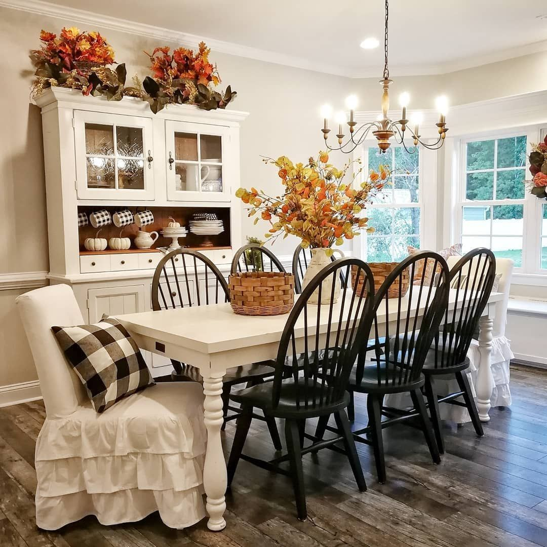 Popular Rustic Farmhouse Style Ideas For Dining Room Decor 06