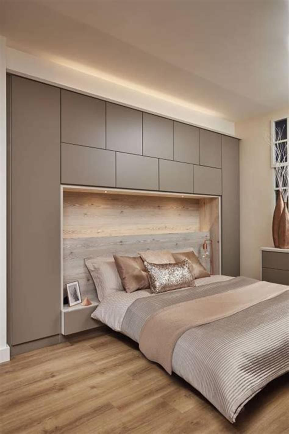 Popular Small Bedroom Decor Ideas 21