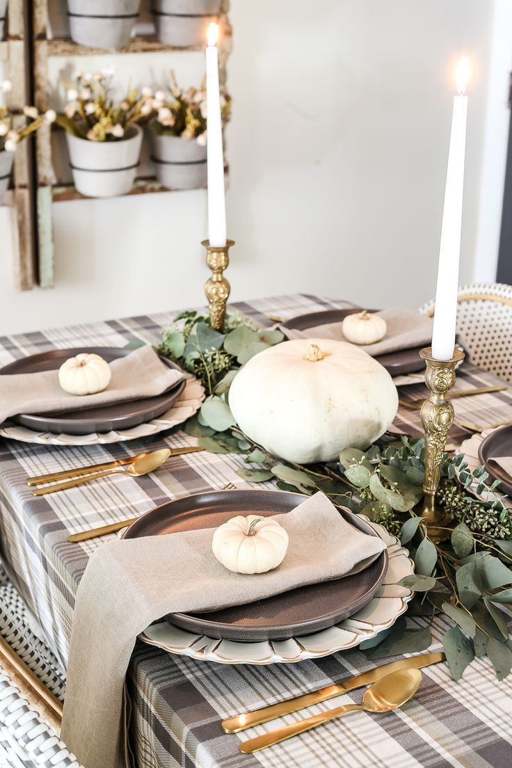 Popular Thanksgiving Table Decorating Ideas Beautiful Look 18