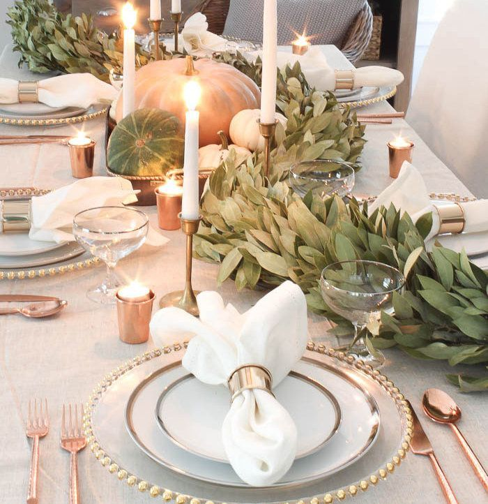 Popular Thanksgiving Table Decorating Ideas Beautiful Look 29