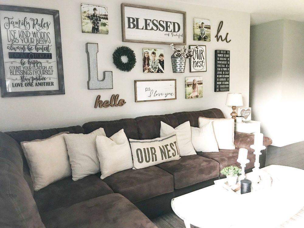 Stunning Living Room Wall Decoration Ideas 01
